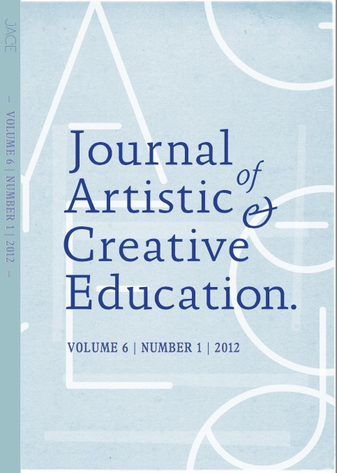 View Vol. 6 No. 1 (2012): Addressing the Subjective through Arts Education