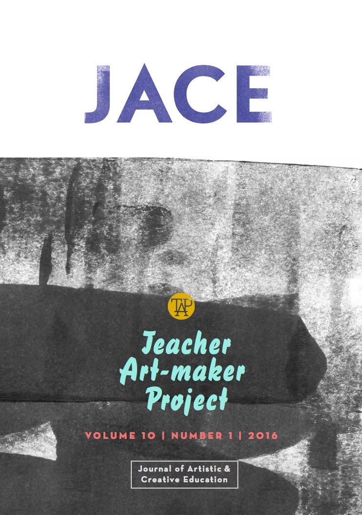 View Vol. 10 No. 1 (2016): Teacher Artmaker Project